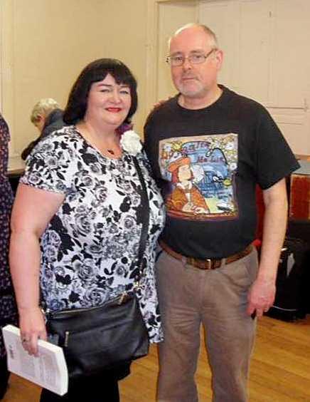 Pic of Ian Churchward and Susan Lamb