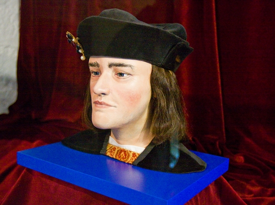Pic of reconstruction of Richard III's head