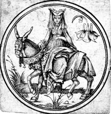 Lady on Horseback