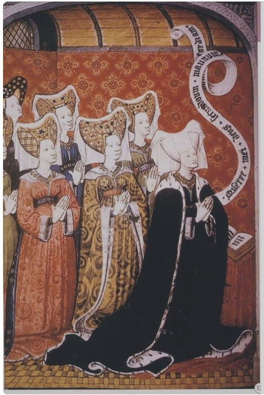 One of the ladies on the left is Cecily Neville.