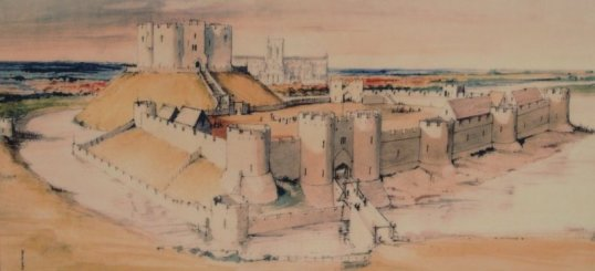 York Castle - as it was