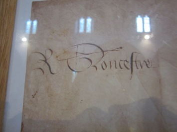 copy of richard gloucestre signature
