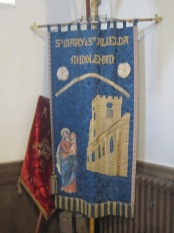 standard of st alkelda church
